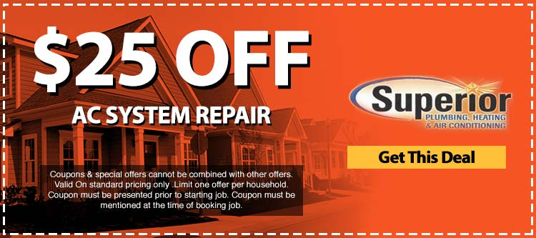discount on ac system repair