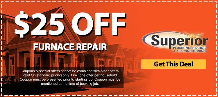 discount on furnace repair services